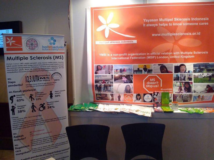Minggu, 26 Maret 2017 YMSI Berpartisipasi Dalam Acara Jak-News 2017 Oleh: Febby Acara Jak-News (Jakarta Neurology Exhibition, Workshop, and Symposium) 2017 yang