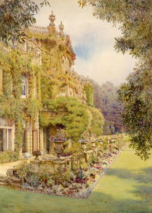 Edith Helena Adie 1865 1947 The Dyffryn House British