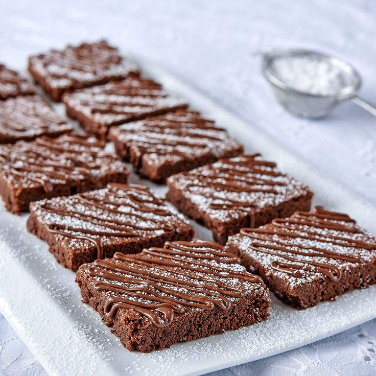 Nutellabrownies