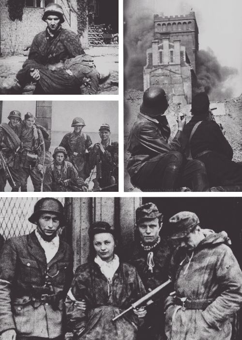 Faces of the Warsaw Uprising and the Warsaw Resistance, 1944