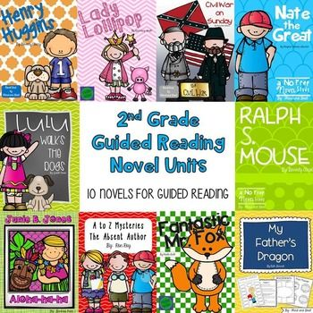 Print and Go Novel Units!Looking for Common Core Aligned, NO PREP Novel Units? Look no further! This BUNDLE contains all that you need to teach the classic second grade chapter books. They can be used for guided reading groups, individual reading, a whole class study, or as read aloud companions.