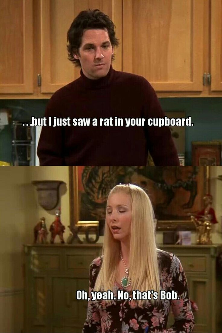 The one where she has rats