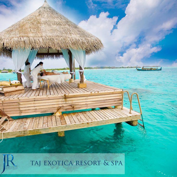 Taj Exotica Resort & Spa #Maldives #Travel #Jordan_Road #Honeymoon #Sea #Beach