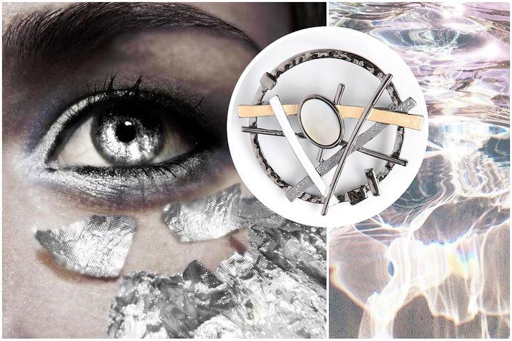Металл и натуральный перламутр в брошке коллекции Street Fashion. Брошь: http://selena-jewelry.ru/produ…/view_single_product/30026640 #selenajewelry #streetfashion #motherofpearl #metallic #texture #architecture #conceptart #металлик #перламутр #концепция #текстура #брошь #бижутерия #украшения