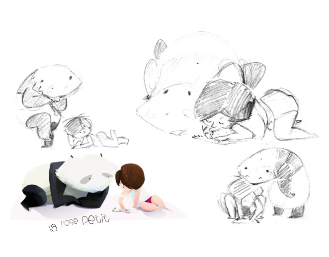 Sketches by http://rozovotruskova.blogspot.ru/