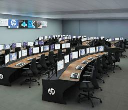 Network Operation Center Furniture & Command Consoles | Winsted