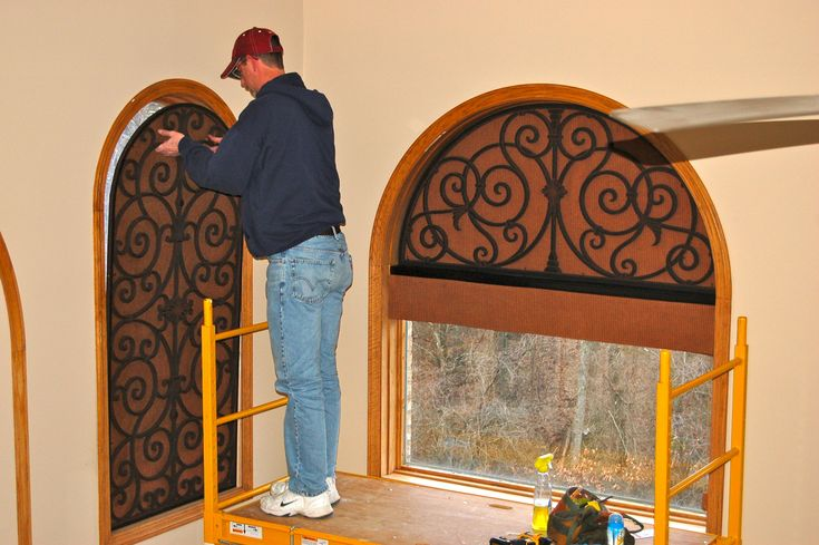 33 Best Images About Faux Iron On Pinterest Iron Wall