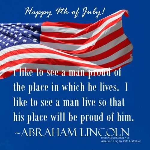 fourth of july motivational quotes