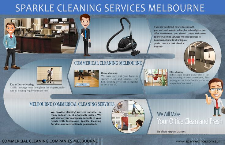 Commercial Cleaning Companies Melbourne is commonly utilized within large business domiciles that require frequent cleaning. One of the main advantages of using this form of service is that 'cleaning service' refers to a service from which a number of different cleaning tasks will be completed which is why commercial cleaning services are so widely used by business organizations. Browse this site http://www.sparkleoffice.com.au/  for more information on Commercial Cleaning Companies…