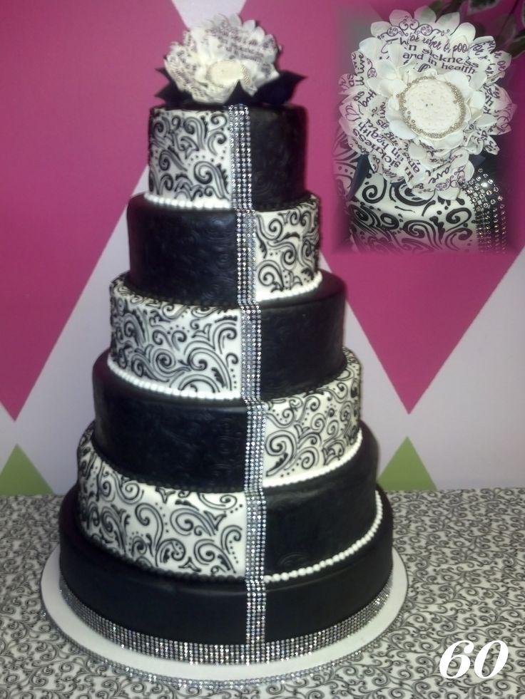 Black White Cake Pictures