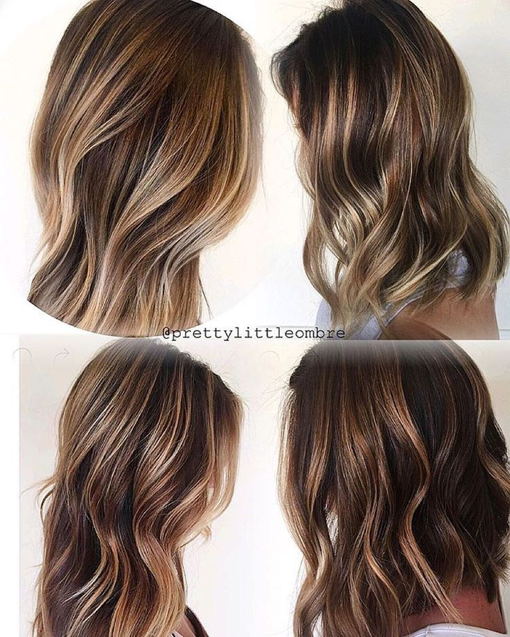 Caramels and chocolates. My favorite base color has to be Wella KP 6/73 and my favorite caramel glaze is Wella CT 7/73.  What are your favorite chocolate caramel formulas? #wellahair #prettylittleombre