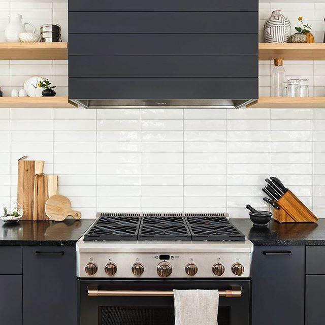 Manchester Bianco 3x12 White Ceramic Tile Modern Kitchen Backsplash Kitchen Remodel Kitchen Design