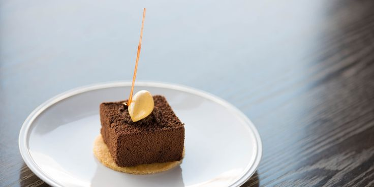 An incredibly indulgent homemade Jaffa cake recipe from chef Bryn Williams. This dessert is a firm favourite on the menu at Odette's restaurant and features a rich chocolate mousse and vibrant orange jelly.