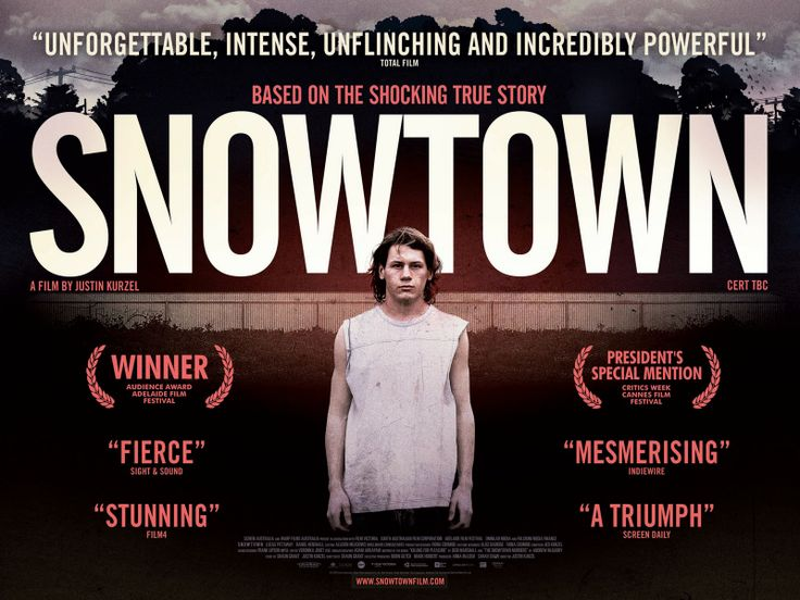 The Snowtown Murders: Incredible film...  truly terrifying!