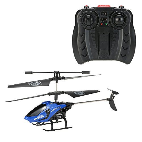 GoolRC Remote Control Helicopter Toys with LED Light Navigation andamp