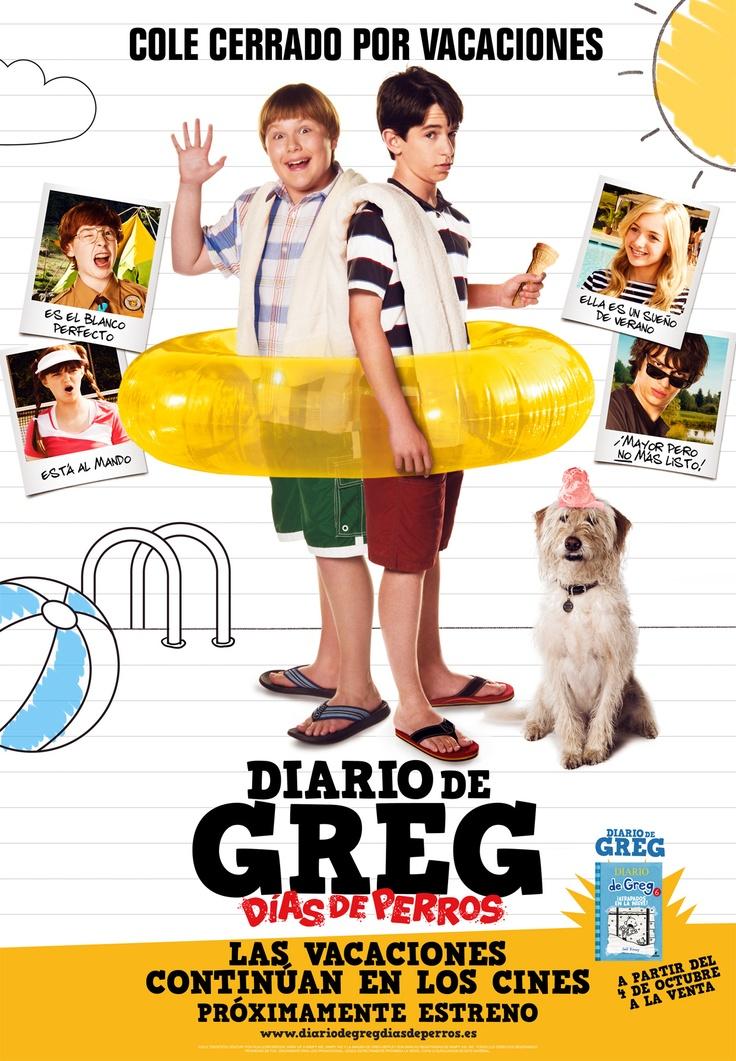2012 - Diario de Greg 3: días de perros - Diary of a Wimpy Kid: Dog Days