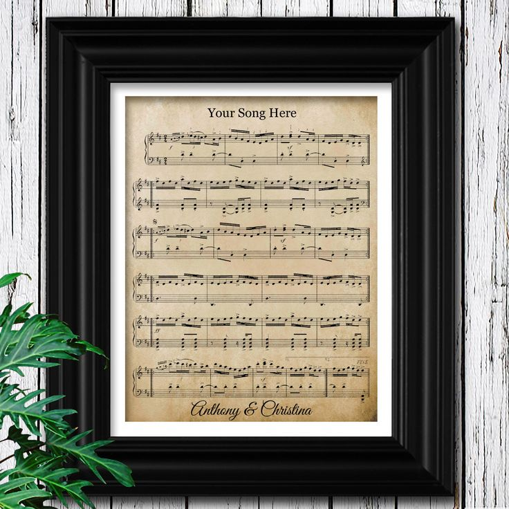 YOUR WEDDING SONG | Sheet Music on Velvet Paper | 15th Anniversary Gift | Unique Gifts for Men | 15 Year Anniversary | Husband Anniversary by SheetMusicBoutique on Etsy https://www.etsy.com/listing/494459747/your-wedding-song-sheet-music-on-velvet
