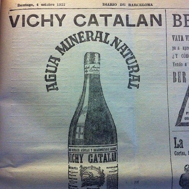 Vichy Catalán siempre ha apostado por la publicidad.