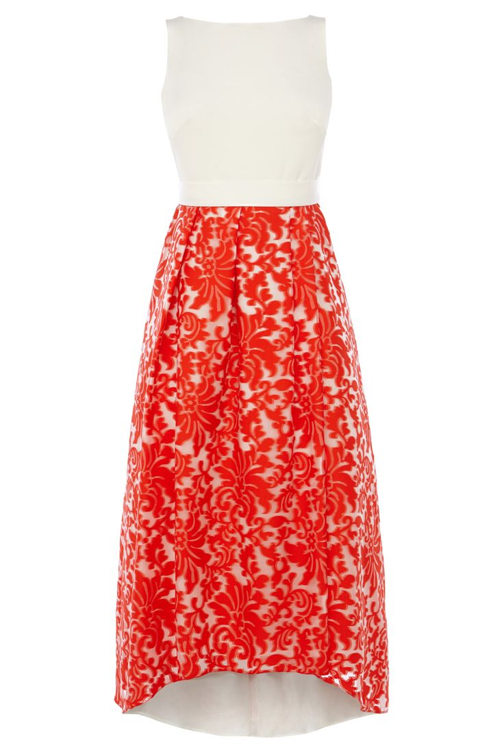 ROCCABELLA JACQUARD DRESS