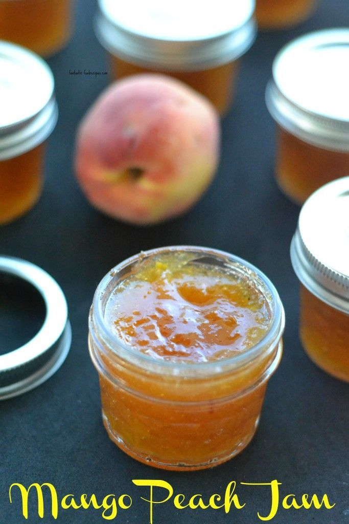 Bring the taste of the tropics into your home with this delicious homemade Mango Peach Jam.