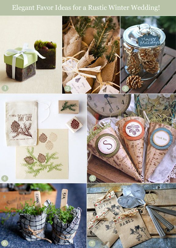 Rustic Wedding Gift Ideas : Best images about wedding favor ideas on
