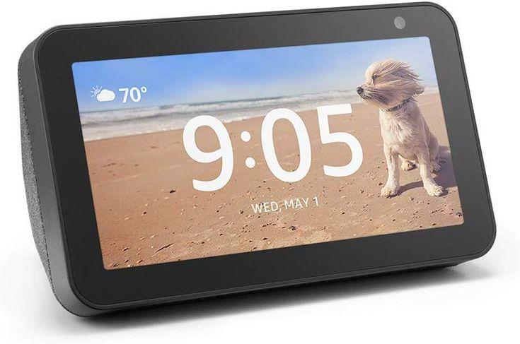 Can You Watch Netflix On Echo Show Echo Show 5 Compact Smart Display With Alexa Charcoal Cool Technology New Tech Gadgets Compact 5 5 S Electronic Gift Ideas Electronic Gifts Amazon Devices