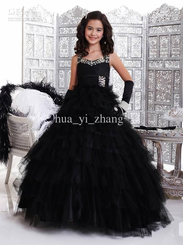 Image result for black gown for girls