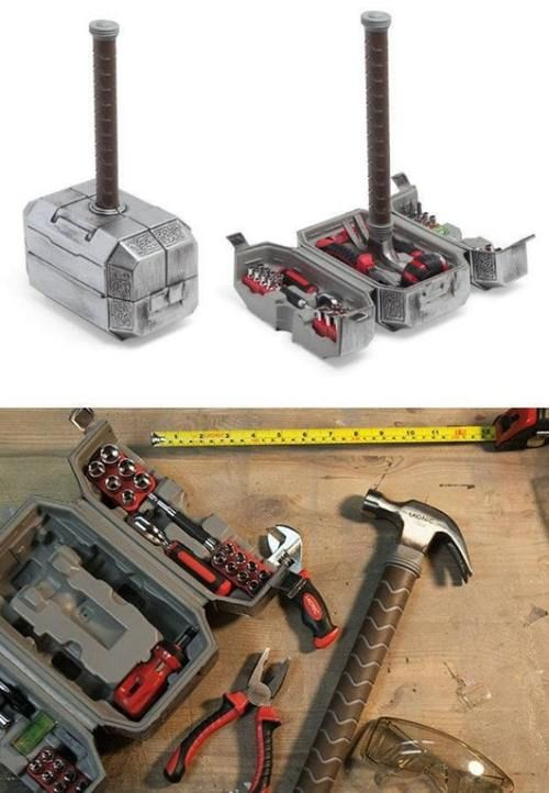 Novelty Gift Ideas Marvel Thor Hammer Tool Set Cool Hammer Tool