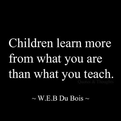 "This was my mantra way back when I was required by the state to teach ""character education."""