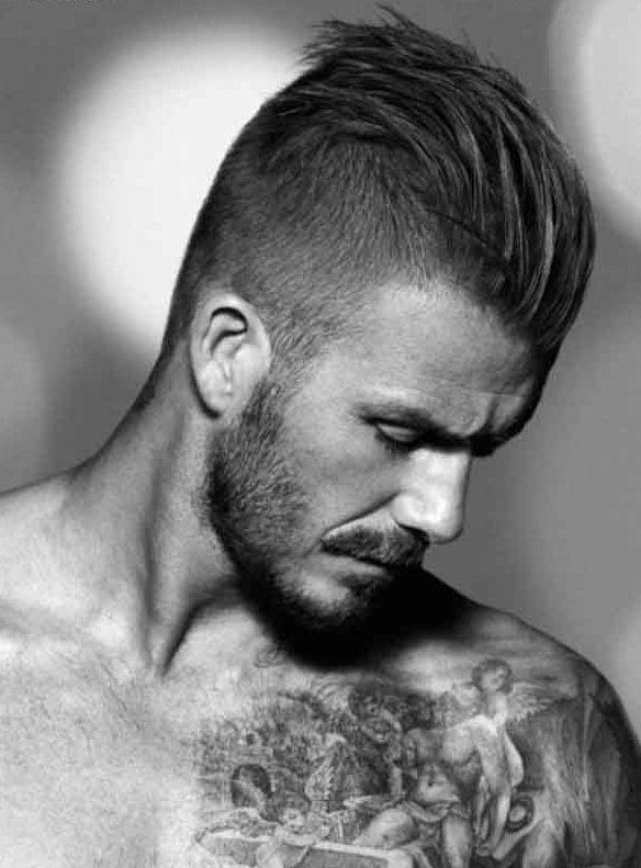 Kadınları baştan çıkartan erkek saç modelleri - David Beckham