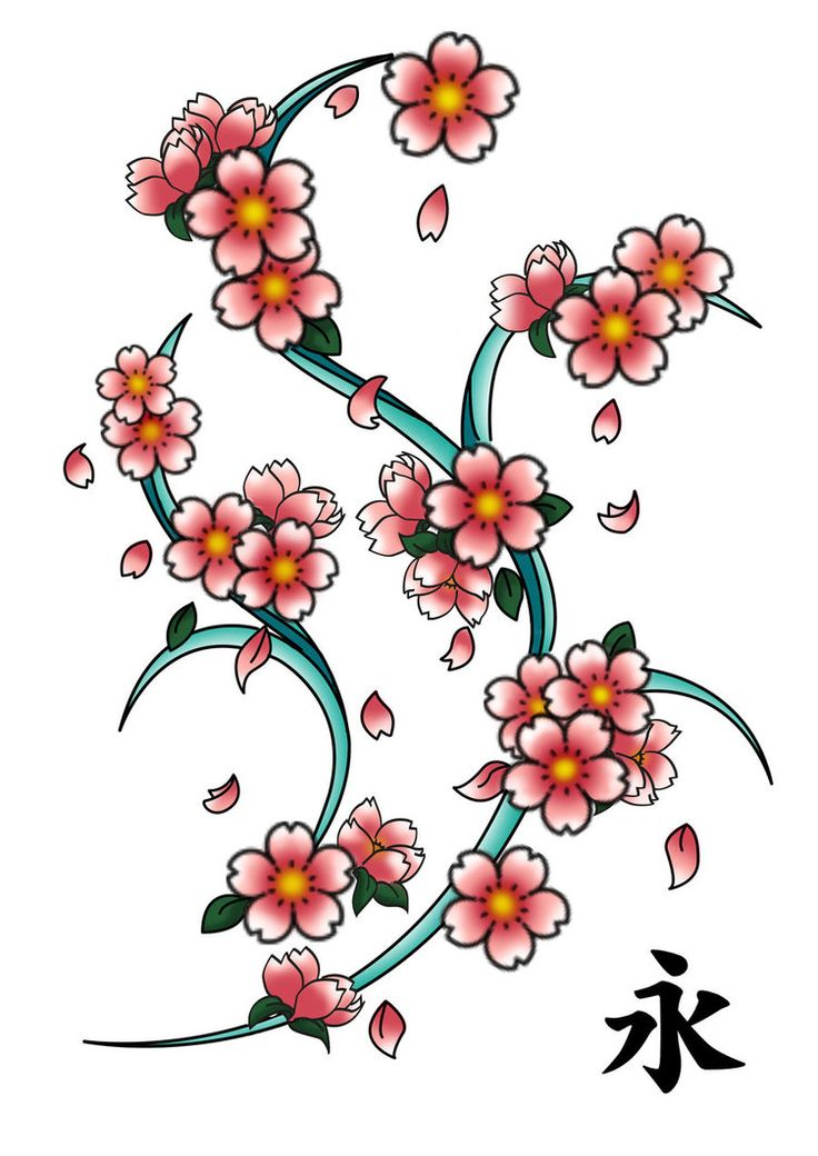 Sakura Tattoo By Rin Alexiel On Deviantart Blossom