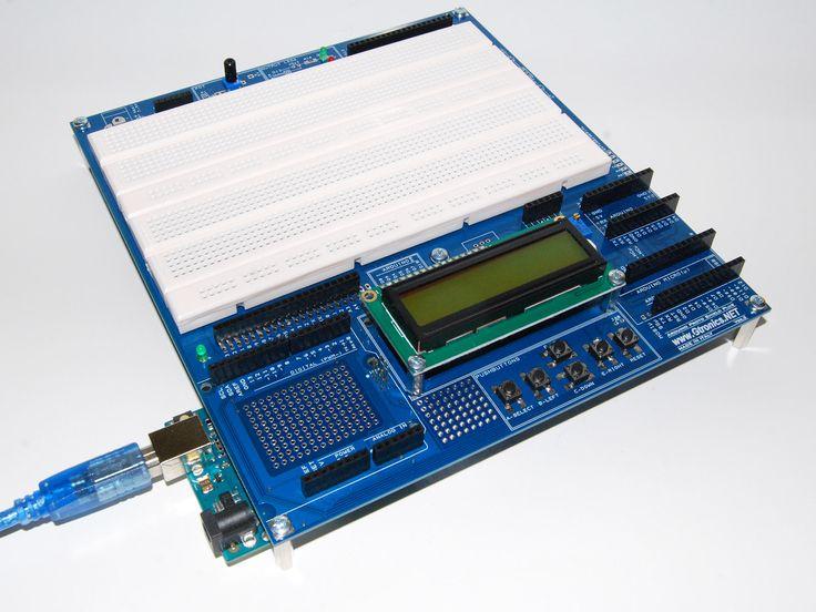 Arduino prototyping board easy breadboarding with
