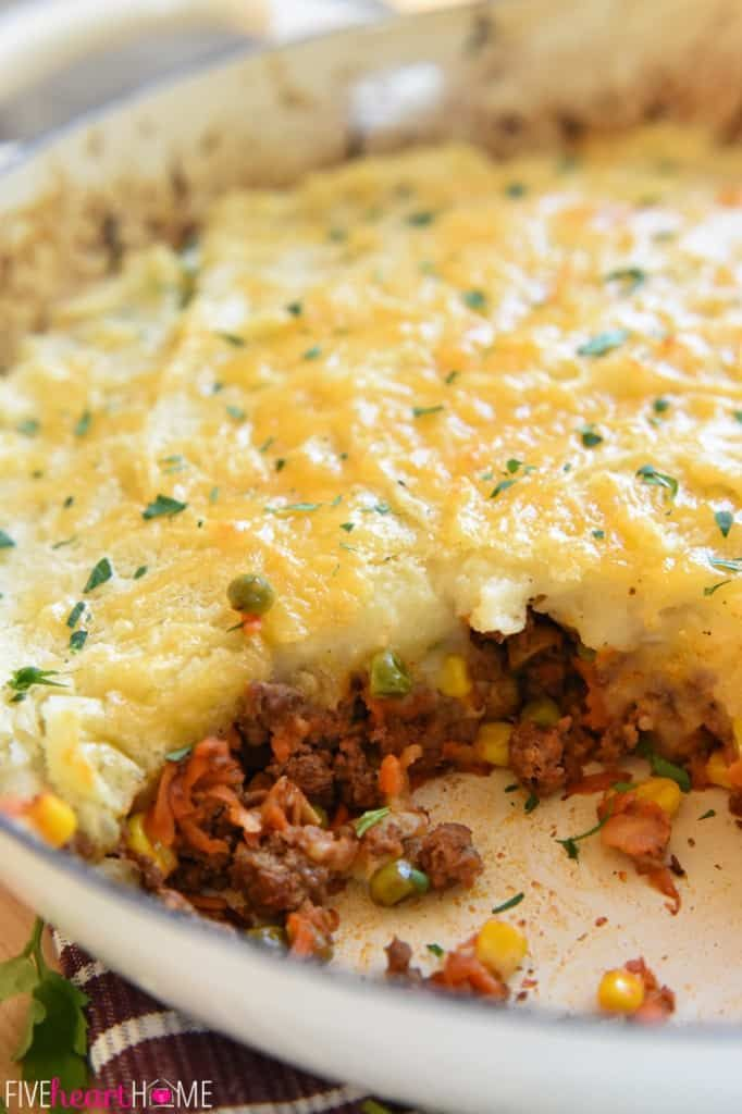 Skillet Shepherd S Pie Fivehearthome Cooking Recipes