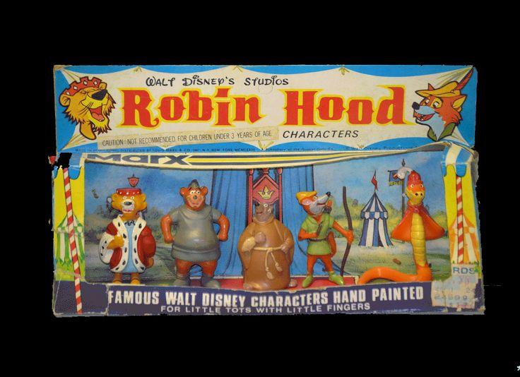 Robin Hood Disneykins   Disney - Toys, Pre-1970's ...