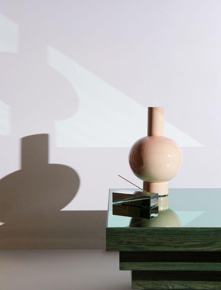 Vase & incense holder by Daniel Emma