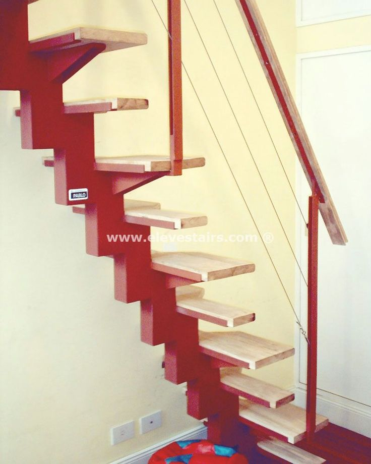 Space Saving Staircase Designs: Alternating Tread Staircase Ideas