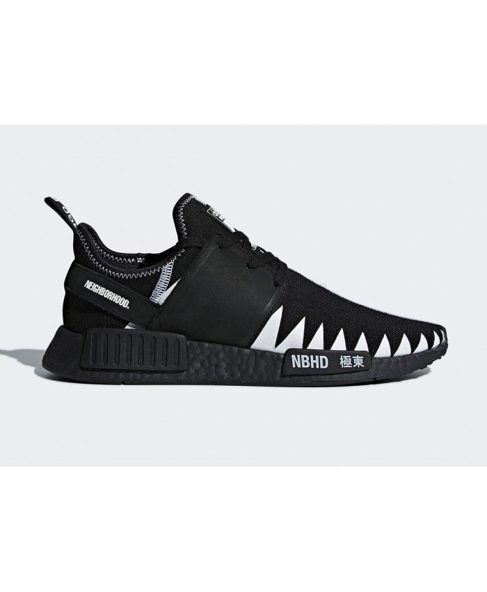 a78249cf1 Neighborhood Adidas NMD R1 All Black New Trainers Sale UK