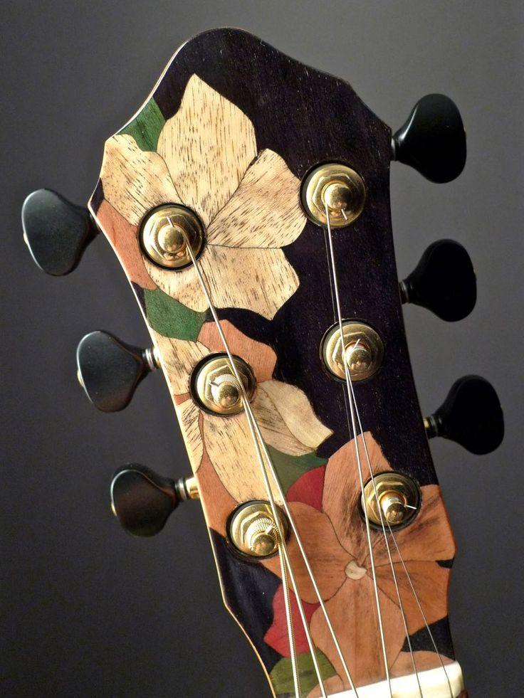 2006 Everett Elan - Acoustic Guitar - Flower Inlay
