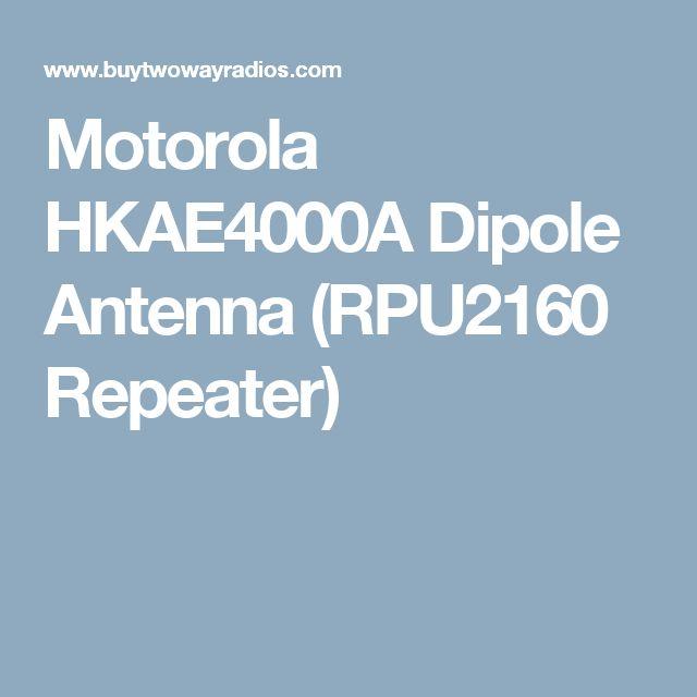 Motorola HKAE4000A Dipole Antenna (RPU2160 Repeater)