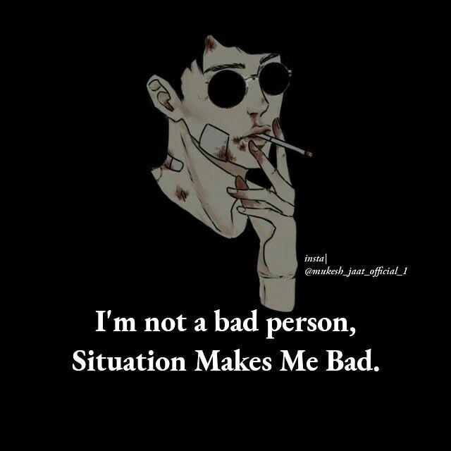 My Attitude Magical Photography Bad Person Attitude Quotes