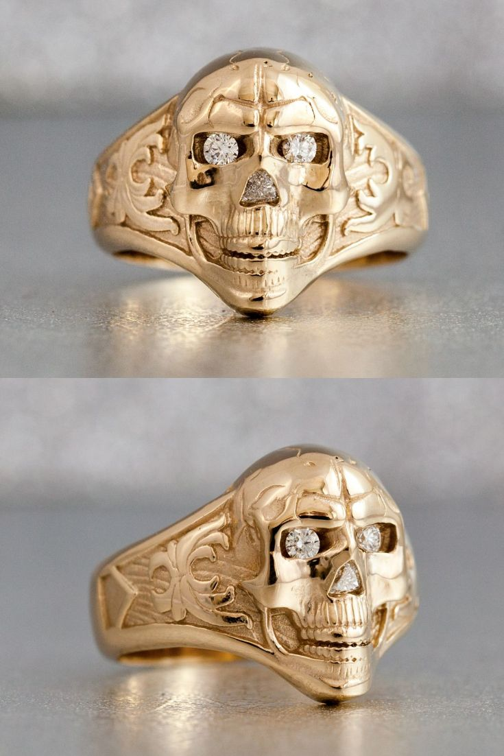 25 best ideas about Skull wedding ring on Pinterest
