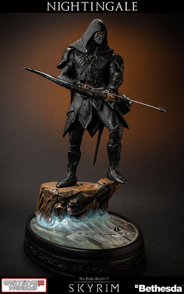The Elder Scrolls V Skyrim Statue 1/6 Nightingale 41 cm  The Elder Scrolls Figuren - Hadesflamme - Merchandise - Onlineshop für alles was das (Fan) Herz begehrt!
