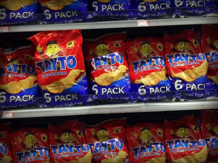 Our shelves are bursting with Tayto!  Check us out online - all available in USA!
