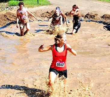 Do a mud run!  In Oct!
