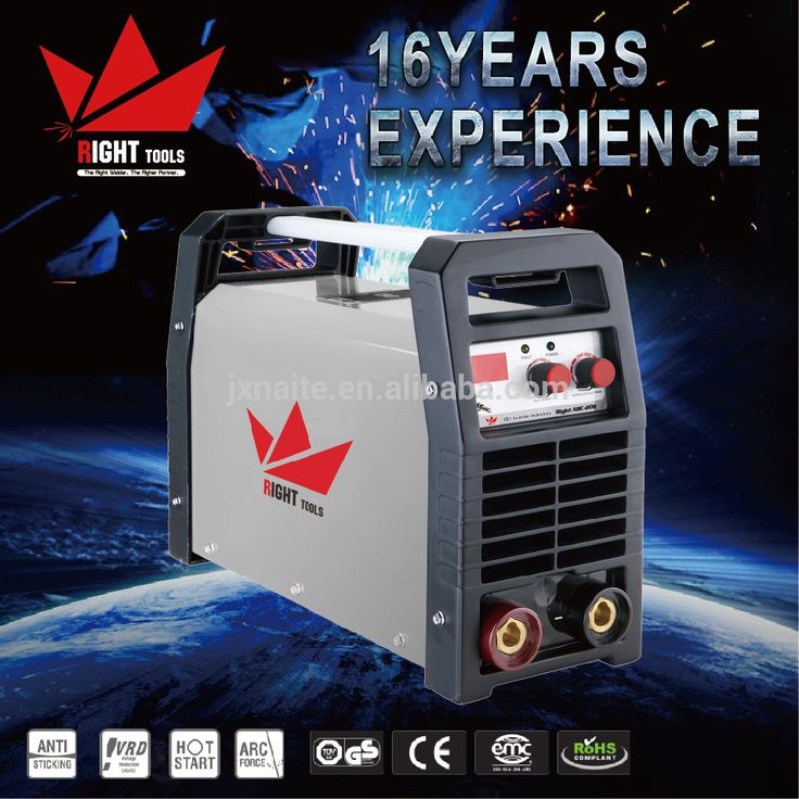 MCU Arc Force Anti Stick Single Phase MMA 200 Inverter Welding machine