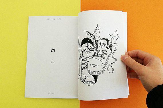 Ink Potions Inktober Coloring Book Zine For Children Coloring Books Zine Sketch Book