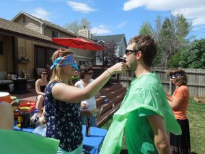 couples baby shower games love the blindfold feeding and multi tasking laundry