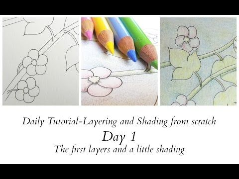 Daily Tutorial - Day 1 - layering and shading - YouTube