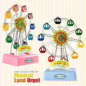 Musical Land Ferris Wheel Music Box/Orgel/birthday gift/gift for her/gift for him/wedding gift/home decoration/뮤지컬랜드 페리휠 관람차 오르골/뮤직박스/생일선물/결혼선물/홈데코/음악상자/멜로디상자/여친선물/남친선물/기념일선물/크리스마스선물