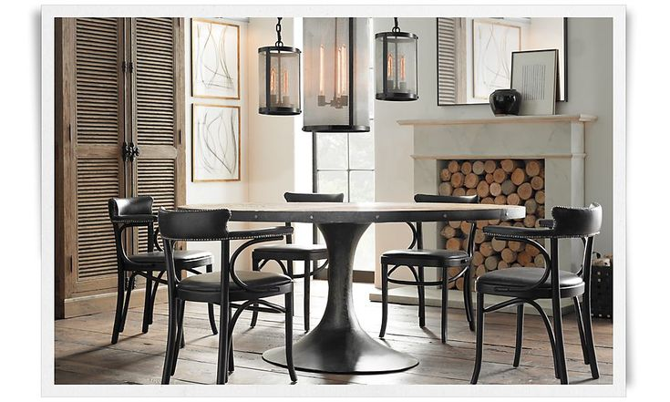 Dining Restoration Hardware For The Home Dining Pinterest